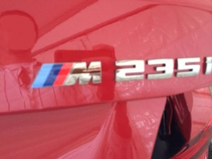 BMW M235i korncars III