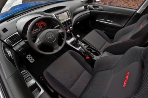 Subaru Impreza WRX Interior korncars