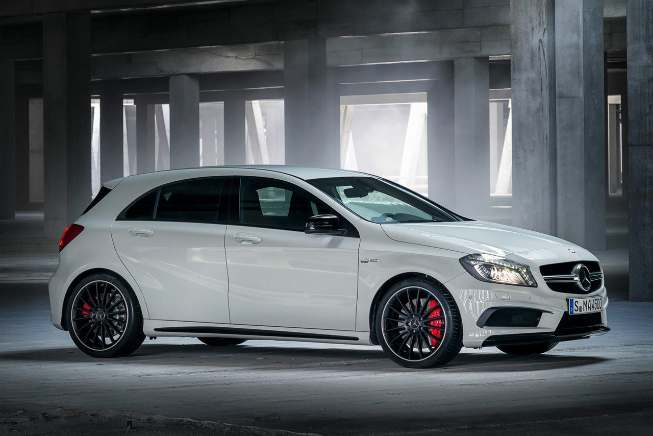 Mercedes benz a45 amg the most competent amg you have for Mercedes benz cars images