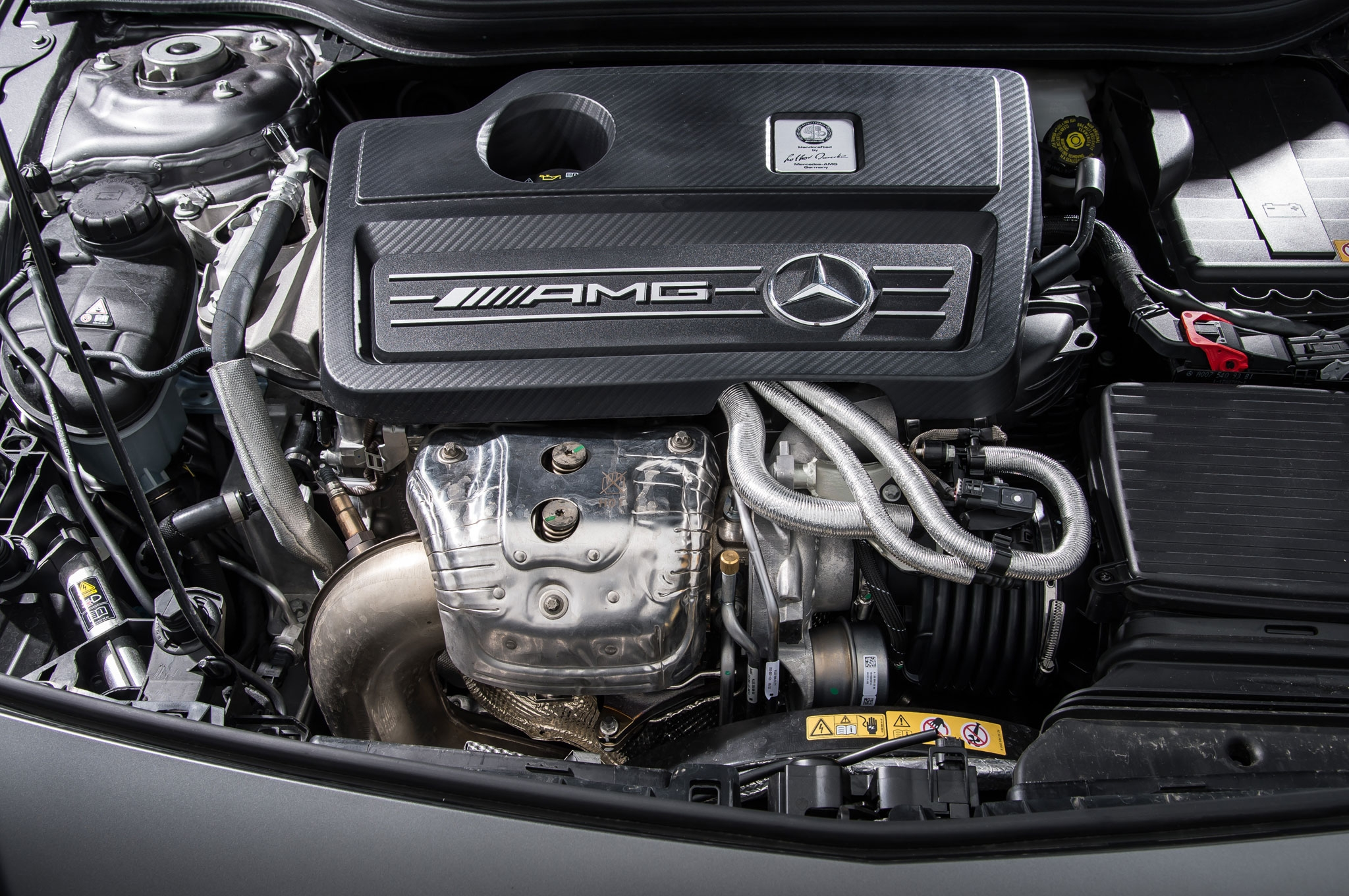 Mercedes benz a45 amg the most competent amg you have for Motor mercedes benz