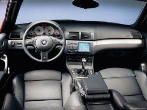 BMW M3 E46 KORNCARS interior