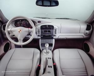 korncars porsche 911 996 Interior