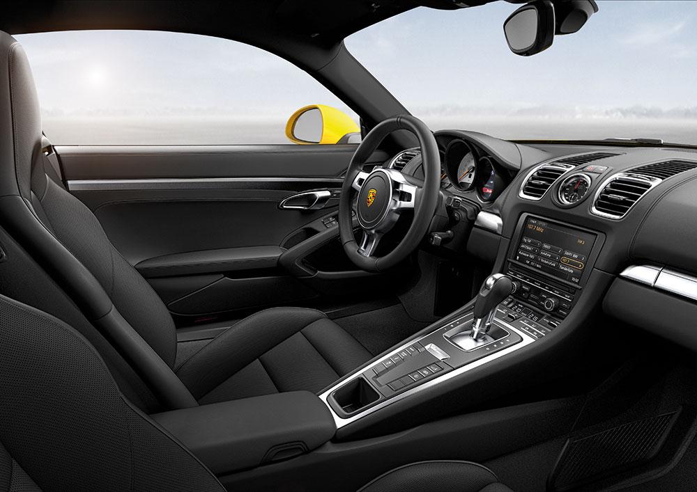 korncars cayman s 981 interior - 911 Porsche 2014 Interior
