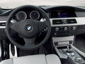 BMW M5 E60 korncars Interior