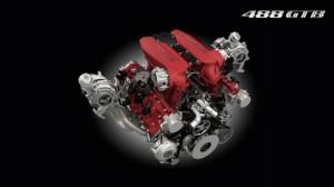 Korncars Ferrari 488 GTB motor