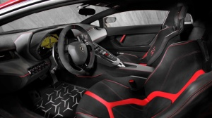 Lamborghini Aventador SV Korncars interior