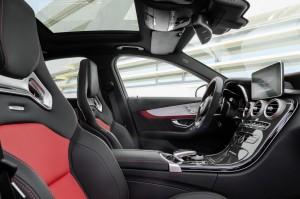 korncars Mercedes AMG C63 S interior