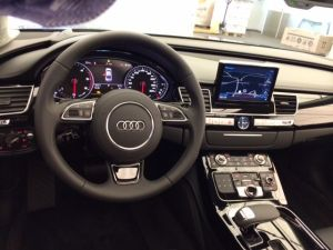 Audi A8 Korncars - interior
