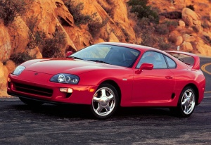 1993 Toyota Supra Twin Turbo MkIV; top car design rating and specifications