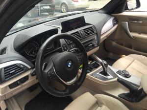 korncars BMW 125i interior