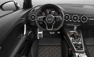 Korncars Audi TTS 2016 interior