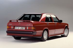 Mercedes 190E Cosworth korncars 2.5
