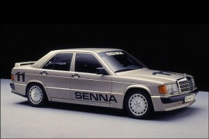 Mercedes 190E Cosworth korncars Ayrton Senna