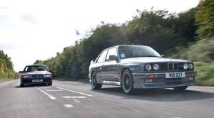 Mercedes 190E Cosworth korncars BMW M3 E30
