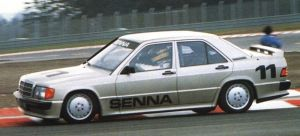 Mercedes 190E Cosworth korncars Senna