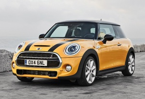 2014 Mini Cooper S (F56); top car design rating and specifications